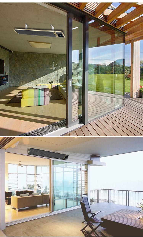 Chauffage infrarouge par panneau rayonnant pour veranda - KENOVEL